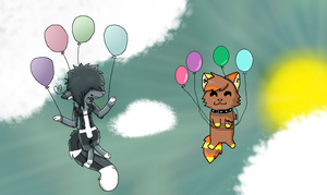 finished collab balloon picture! by EpicTwizzy