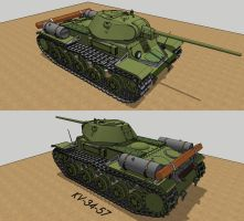 Kv-34-57 by Giganaut