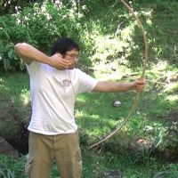 35 LB Red Oak Backed Bow by Tigermano