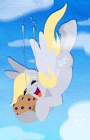 Flying muffin catch! by bunnimation