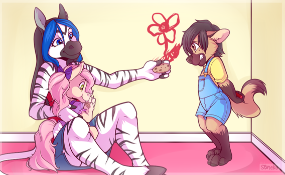 Busted! - Commission by sbneko