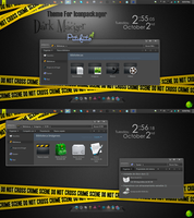 Theme For Iconpackager Dark Macger by PiitufiitoGrr