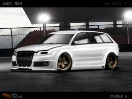 Audi rs4 by doubleart