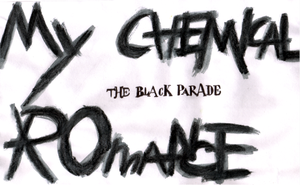 My Chemical Romance - Painting by jess13795