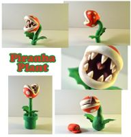 Weekly Sculpture: Piranha Plant by ClayPita