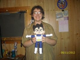 Vegeta Doll Commission 3 by Iziume89