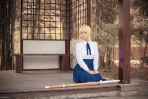 Fate/stay night - Saber by wisely84