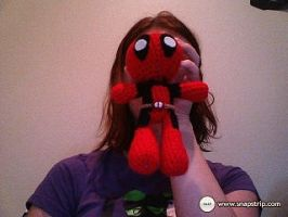 Deadpool doll by SurpySoup