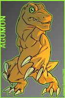 Agumon by Kuraime