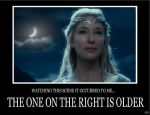 Galadriel Demotivational by J-Ian-Gordon