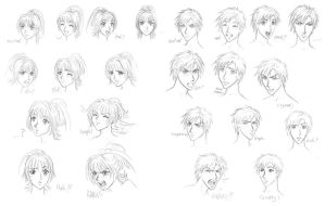 Sudeki expression sheets by Niki-UK