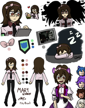 Mary Schmidt by Wolf-con-f