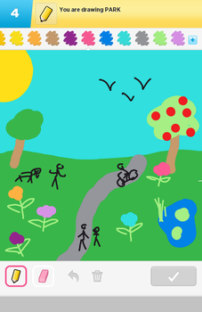 DrawSomething - Park by Trinsec