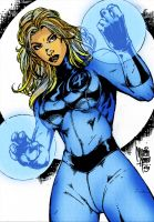 Invisible Woman by Dante-Picasso