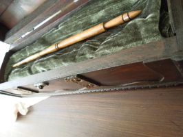 Harry Potter Wand by blondes4evs