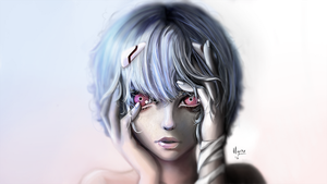 Rei Ayanami by mgahn