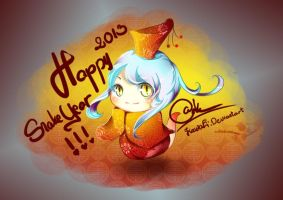 Happy Snake Year!!! by KawaEi
