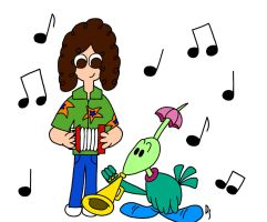 Weird Al and Gogo's Polka by PacDragon