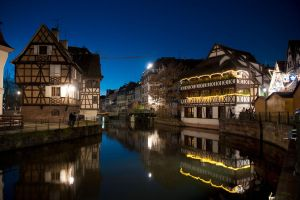 Strasbourg by Night 002 by LordGuardian
