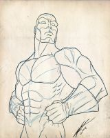 Captain Britain - lines by Juggertha