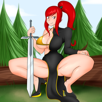 Commission - Erza by MutanoBr