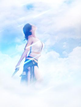 Final Fantasy - Beyond the clouds by GarnetTilAlexandros