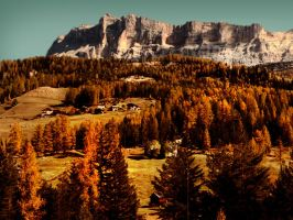 Autumn in Dolomites by edelweiss26