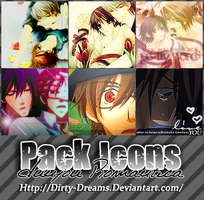 Pack Icons 4 - Junjou Romantica by Dirty-Dreams