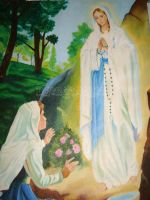 Mother Mary by CeciliaSal