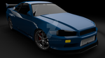 Nissan Skyline R34 - Revisit from 2005 - December by ragingpixels