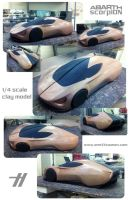 IED ABARTH scorpION - clay by emrEHusmen