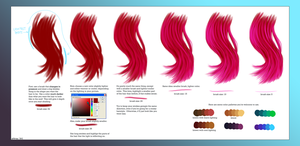 Digital Hair Shading Tips by wick-y