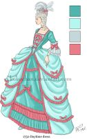 18th Century Dress by kukochan