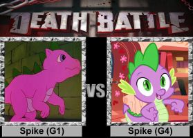 Death Battle: Spike vs Spike by porygon2z
