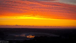 Sunset At Opencast Mines by sandor99