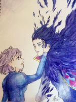 Howl's Moving Castle ~ Howl and Sophie by FabledCreationZ