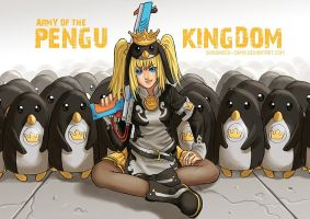 Army Of The Pengu Kingdom by ShiroiNeko-sama