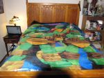 my bed teenage mutant ninja turtle blanket by NinjaAnimeHero