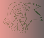 PC: Surge the Hedgehog.:Rock On!:. by Hellishly-Sweet