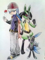 My Characters by lucario321