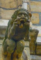 Brussel Gargoyle 3 by Art-and-books