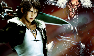 I'm a Lion - Squall x 2 by Dark-Palace