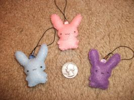 Bunny Charm Sizes by TeacupMenagerie