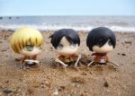 Attack on Titan at the beach by Candyfloss-Unicorn