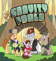 Gravity Foals by sophiecabra
