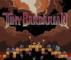 Tiny Barbarian: Destroyer by gsilverfish