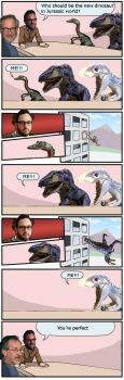 Jurassic World Boardroom Suggestion by EdaphosaurusPogonias