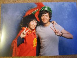 In Which I Make Alex Vlahos Wear My Hat by Narlth