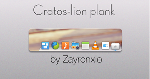 Cratos-lion plank by zayronXIO