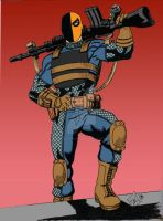 Ultimate Slade Deathstroke Wilson by Needham-Comics
